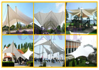 Tensile Membrane Structure PVC Welding Equipment Auto Walking Style Laser Light Positioning