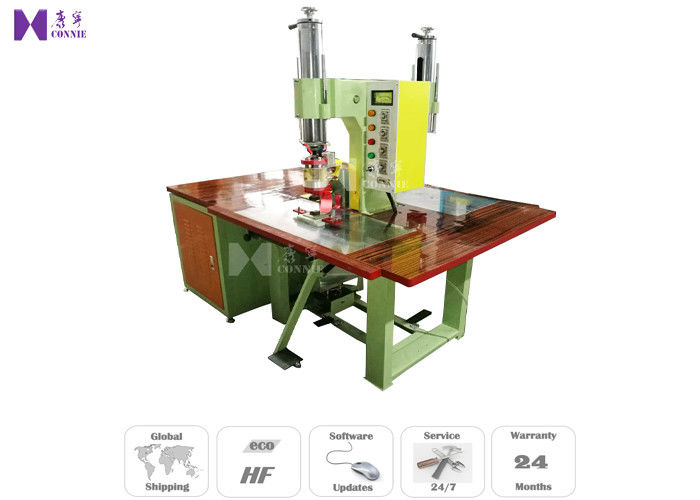 27.12MHZ High Frequency PVC Welding Machine 350Kg Max Pressure 2 Pedals Switch Operated